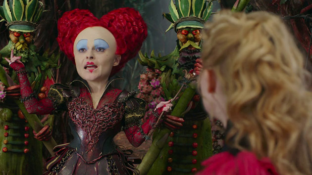 Alice Through the Looking Glass - Blu-ray Review