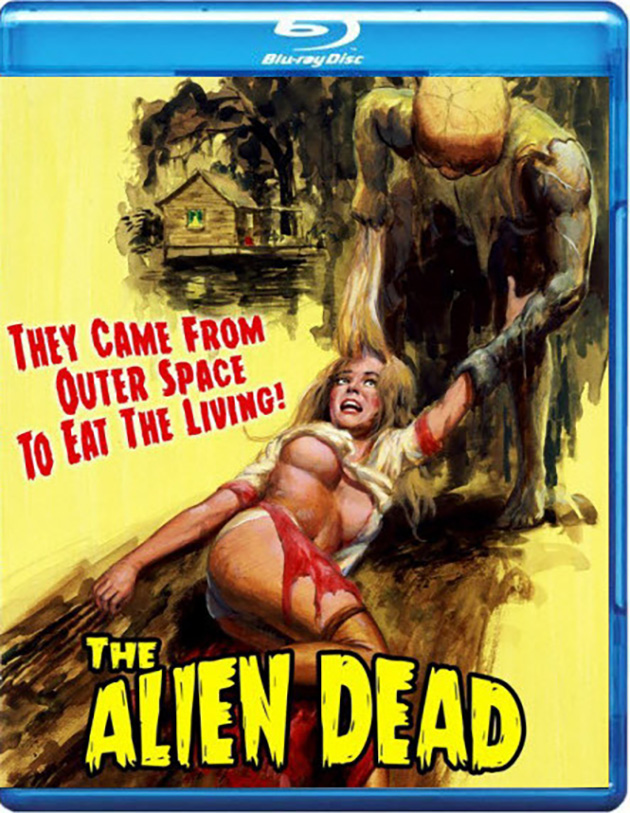 The Alien Dead - Blu-ray Artwork
