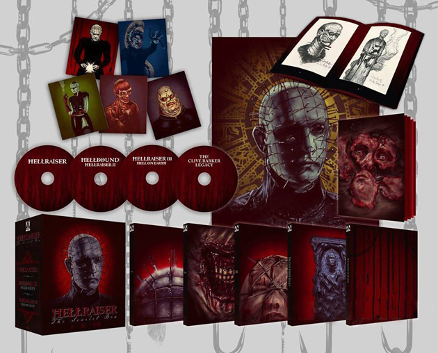 Hellraiser: The Scarlet Box Limited Edition Blu-ray