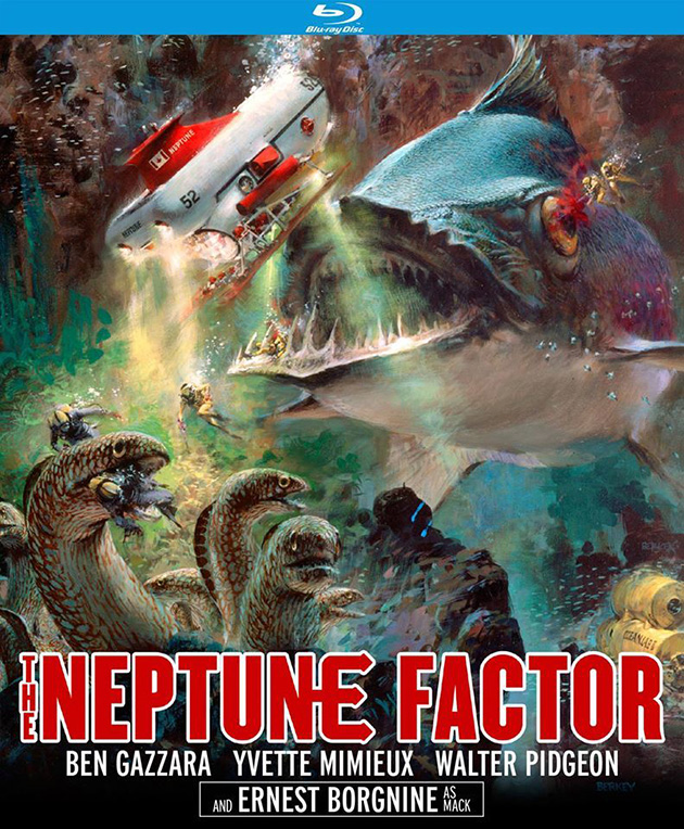 The Neptune Factor (1973) - Blu-ray Review