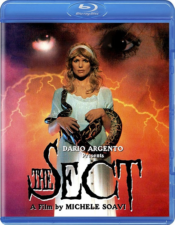 The Sect (1991) - Blu-ray Cover