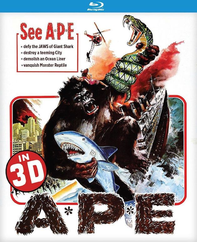 Ape 3D Aka A*P*E (1976) - Blu-ray Review