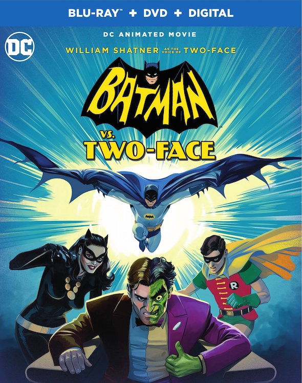 Batman vs. Two0face (2017) - Blu-ray Review