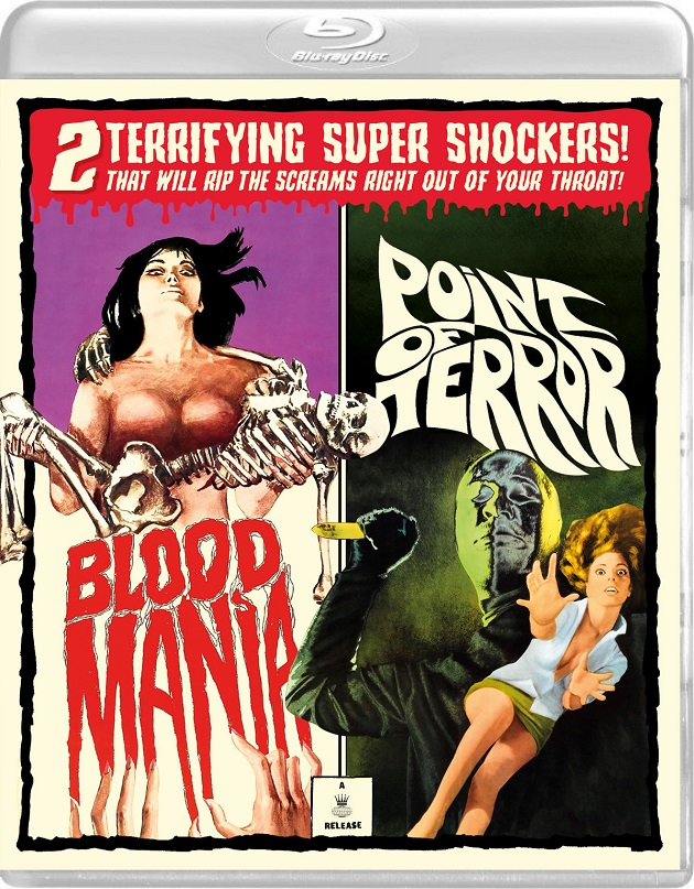 Blood Mania/Point of Terror - Blu-ray Review