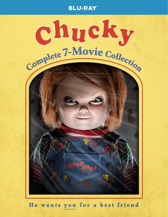 Chucky: The Complete 7-Movie Collection (1988-2017) - Blu-ray