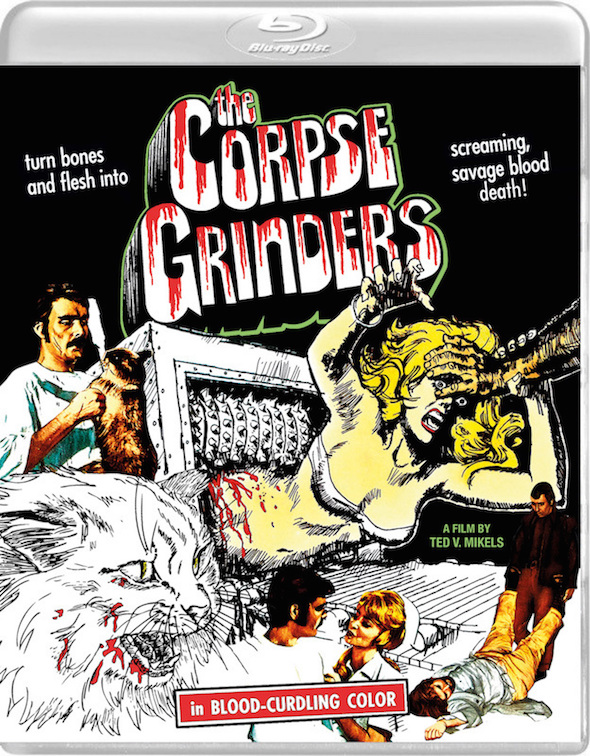 The Corpse Grinders (1972) - Blu-ray