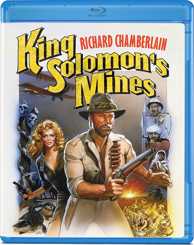 Kinf Solomon's Mines (1985) - blu-ray review