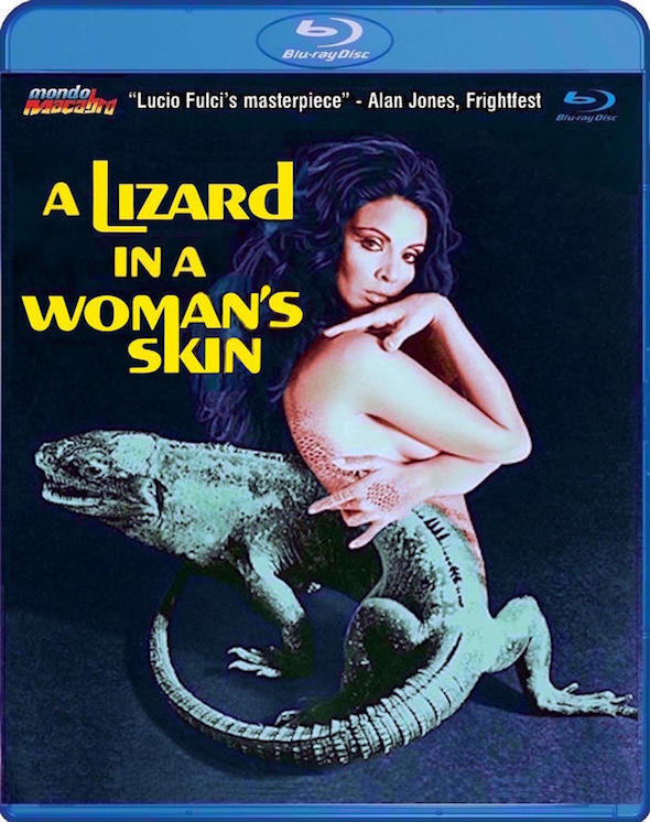 A lizard in a Woman's Skin (1971) - Blu-ray