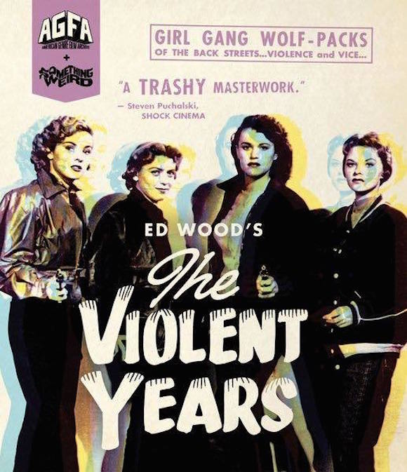 The Violent Years (1956) - Blu-ray Review