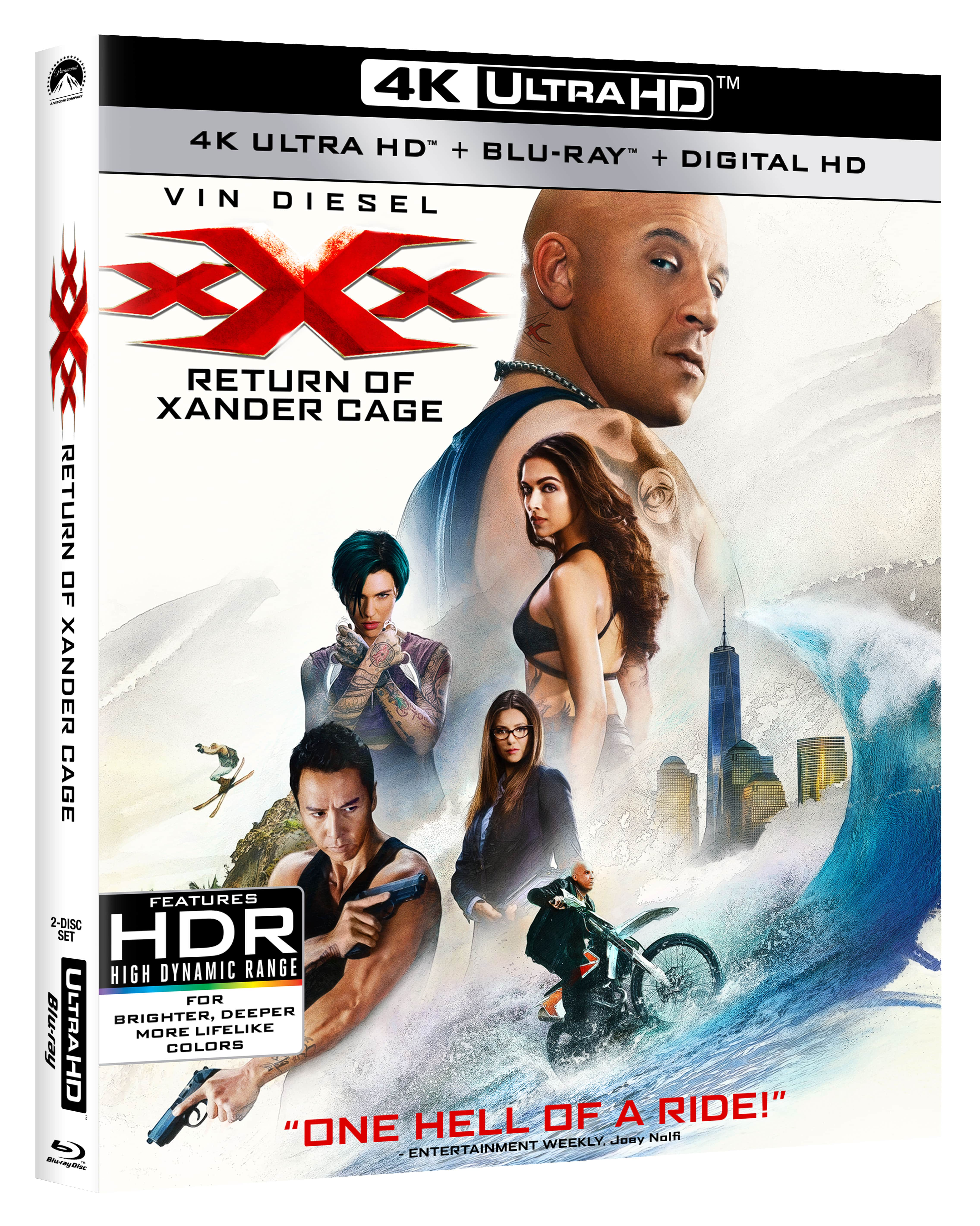 xXx: The Return of Xander Cage - Movie Review
