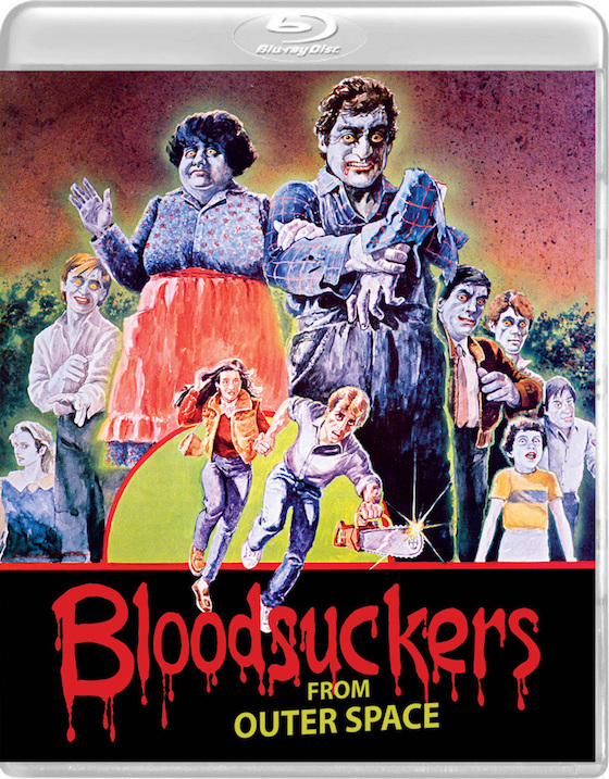 Blood Suckers From Outer SPace (1984) - Blu-ray