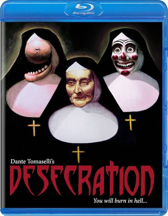 Desecration (1999) - Blu-ray Review