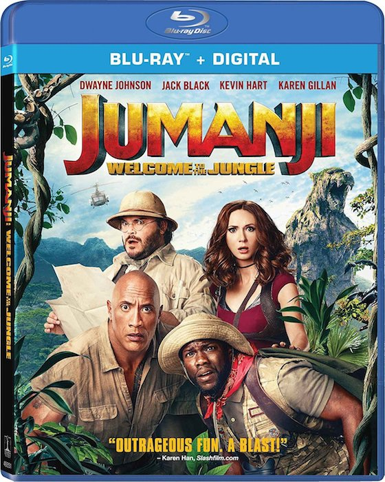 Jumanji (2017) - Blu-ray Review