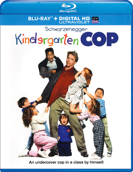 Kindergarten Cop (1990 - Bluray Review