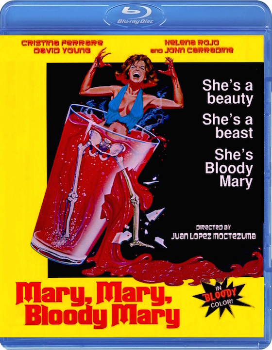 Mary, Mary, Bloody Mary (1975) - Blu-ray Review