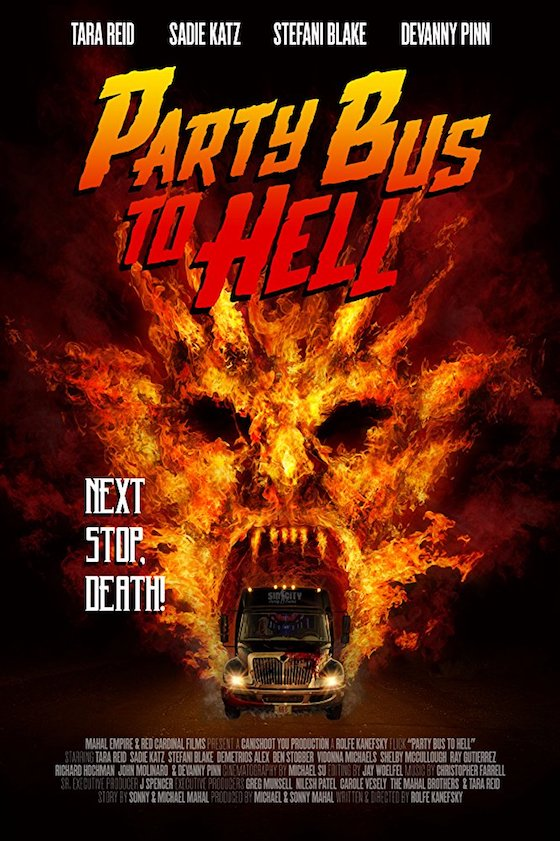 Party Bus To Hell (2018) - Blu-ray Review