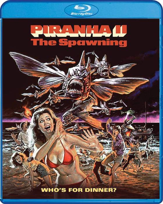 Piranha: The Spawning = Blu-ray Review