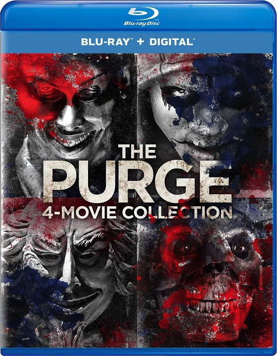 The Purge 4-Movie Collection - Blu-ray