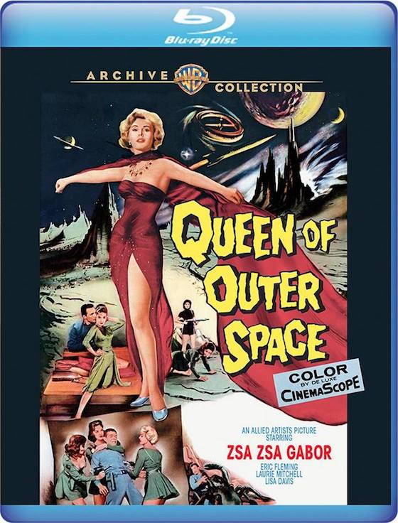 Queen of Outer Space - Blu-ray