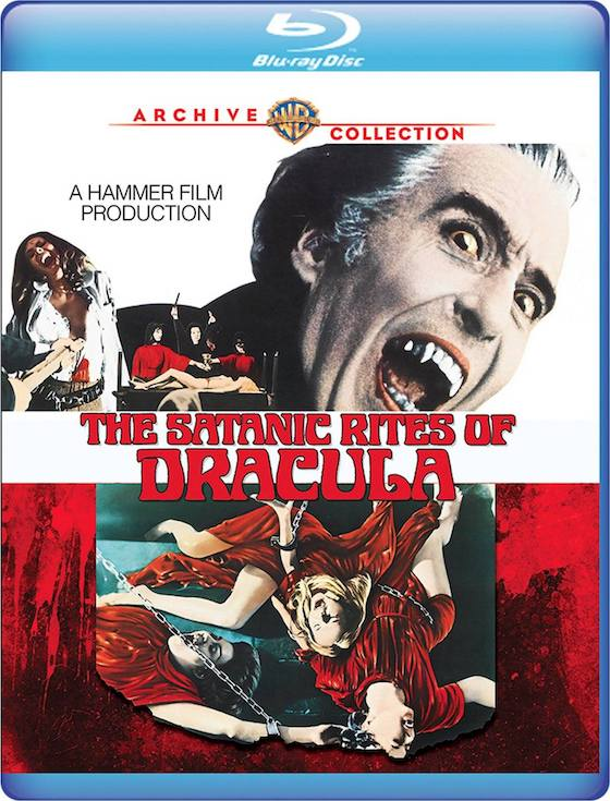 The Satanic Rites of Dracula - Blu-ray