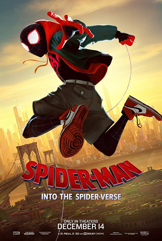 spider man into spider verse