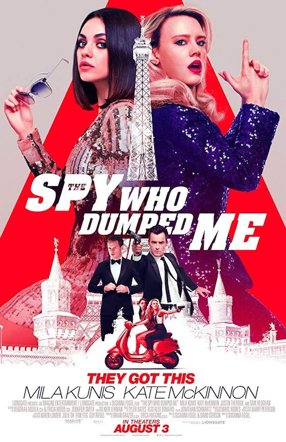 The Spy Who Dumped Me - Movie Review