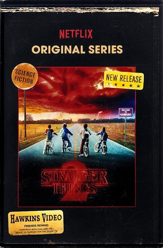 Stranger Things 2 - blu-ray