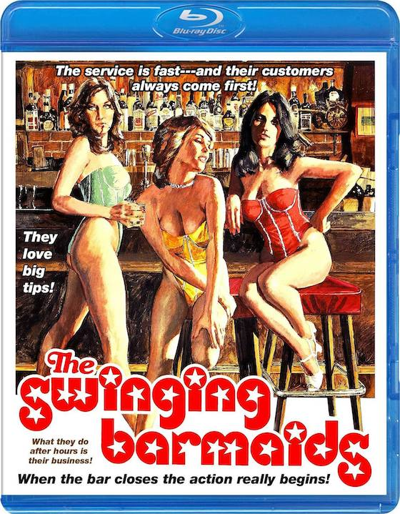 The Swinging Barmaids (1975) - Blu-ray Review