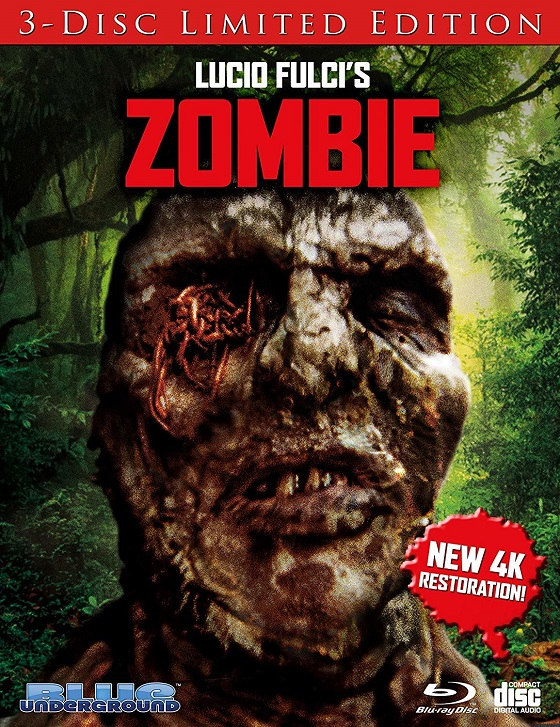 Lucio Fulci's Zombie: 3-Disc Limited Edition blu-ray