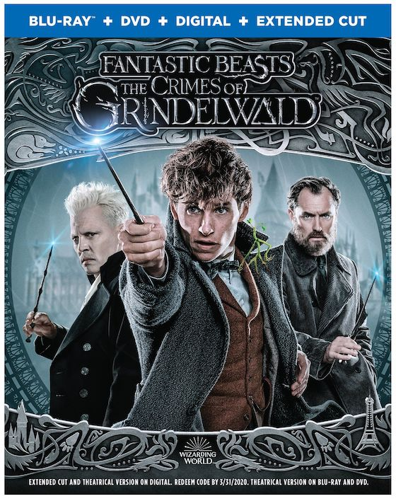 Fantastic Beasts: The Crimes of Grindelwald (2018) - Blu-ray