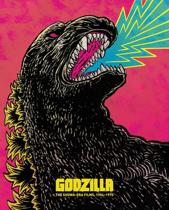 Godzilla: The Showa Era Films Blu-ray