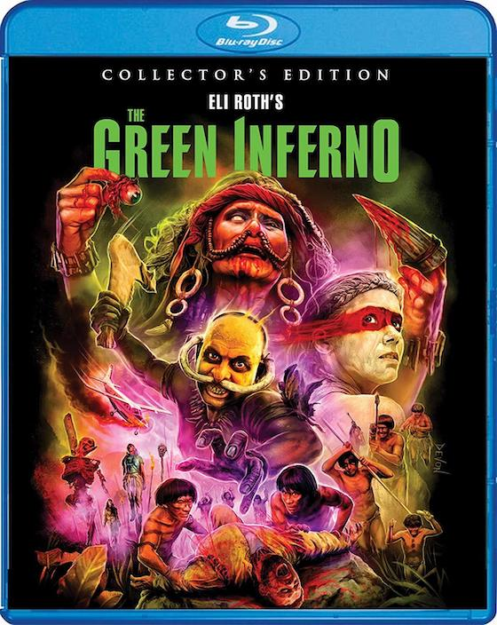 Eli Roth's Green Inferno - Blu-ray