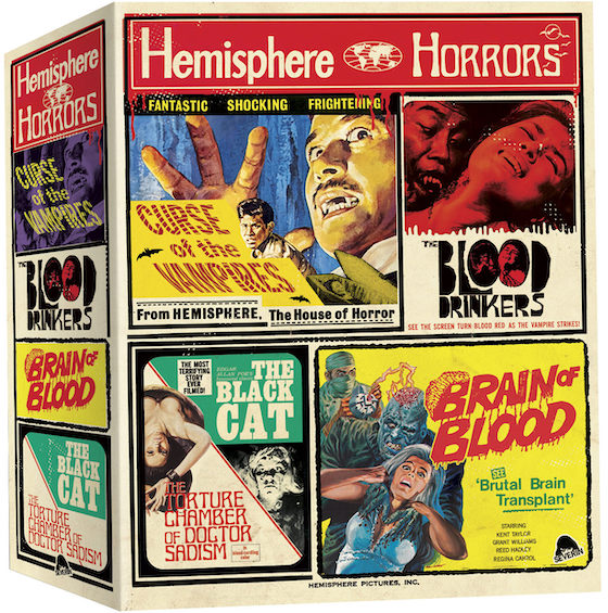 Hemisphere - Box of Horrors - Blu-ray Review