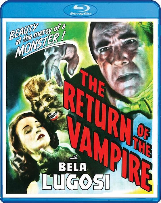 The Return of the Vampire - Blu-ray