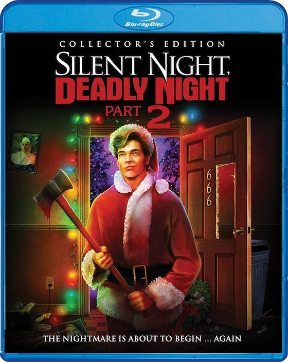 Sleint Night, Deadly Night Part Two: Collector's Edition blu-ray