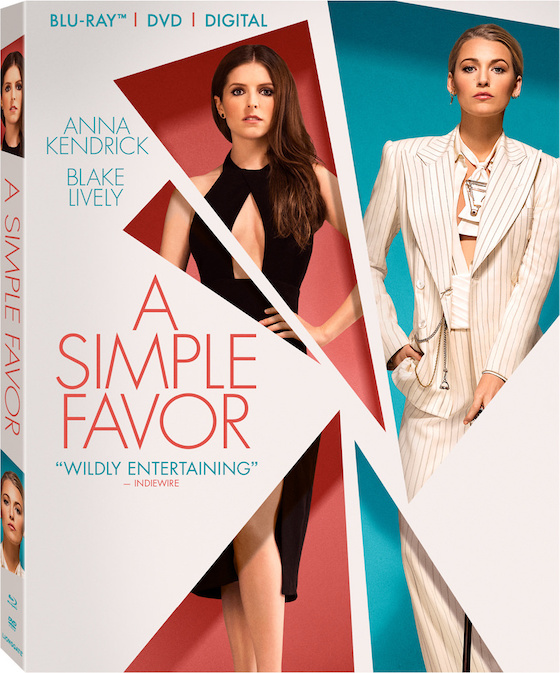 A Simple Favor - Blu-ray Review