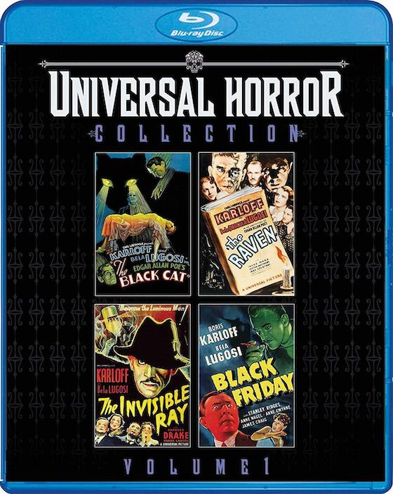Universal Horror Collection - blu-ray