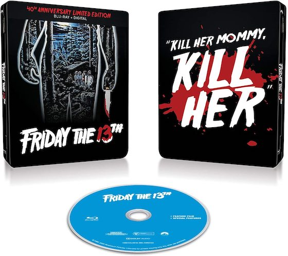 Friday the 13th: 40th Anniversary Limited Editon Steelbook