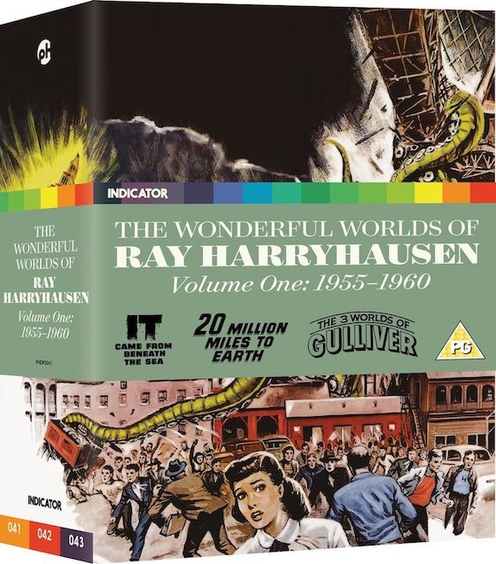 Ray Harryhausen Volume One blu-ray