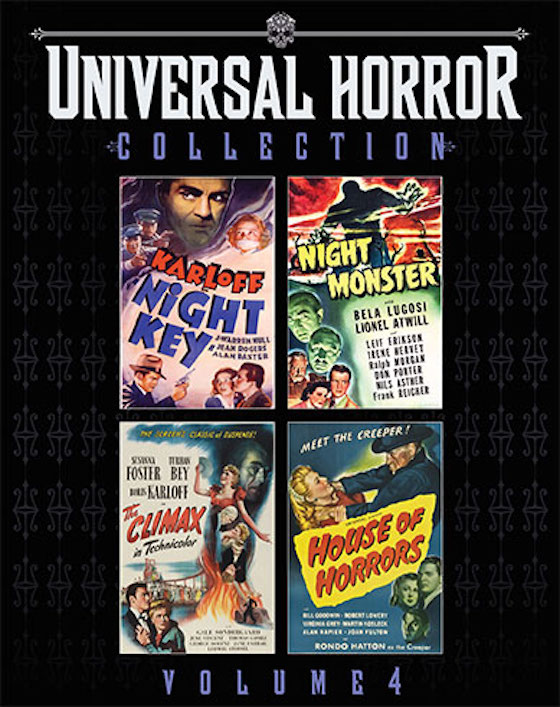 Universal Horror Collection Volume Four