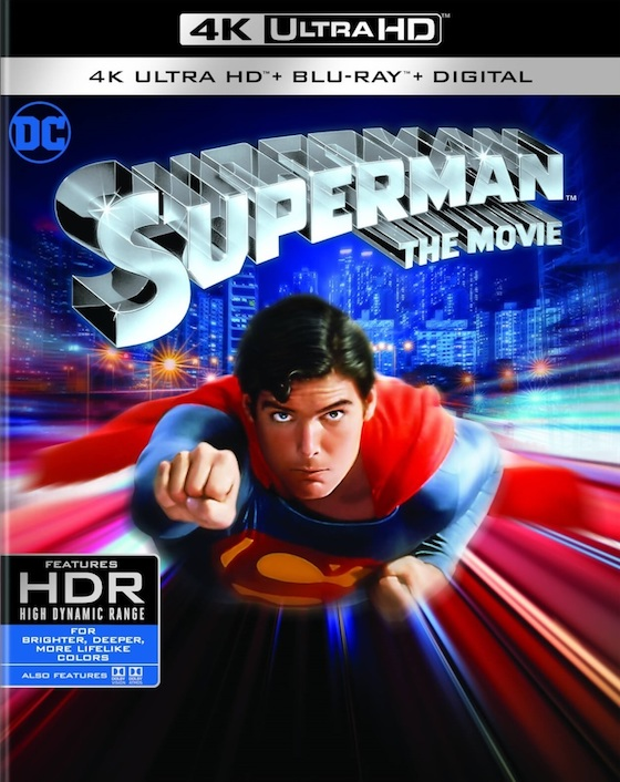 Superman 1978 Blu-ray 40th Anniversary