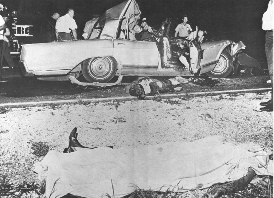 Jayne Mansfield Car Crash Pics