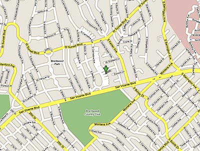 Marilyn Monroe House Map
