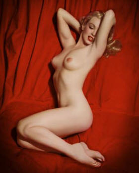 Marilyn monroe young naked