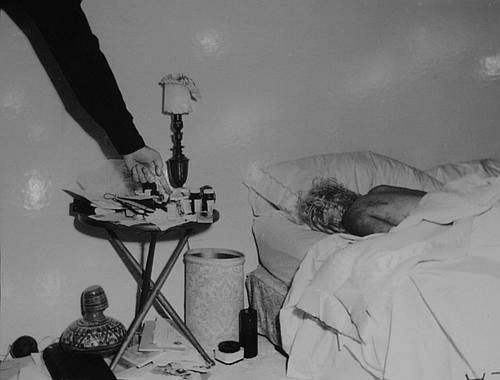 Marilyn Monroe Death Bed