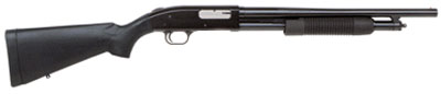 Mossberg 12-gauge shotgun. Possibly like the one to kill Dorothy.