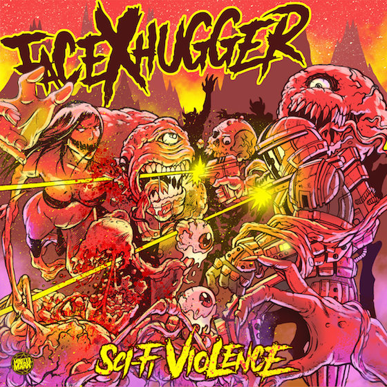 Facexhugger sci-fi Violence
