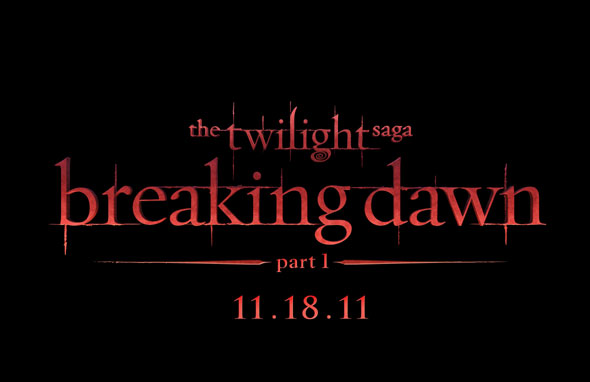 Twilight: Breaking Dawn Title treatment