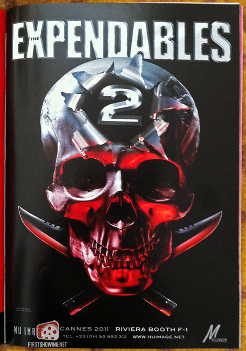 The Expendables 2 teasre poster