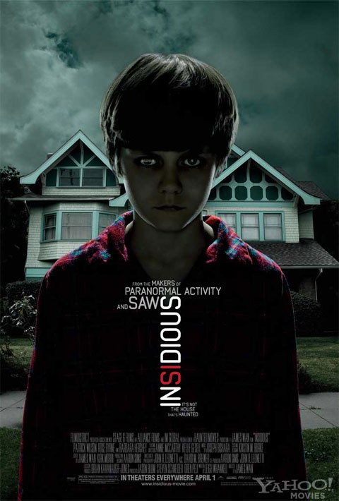 Insidious Offical Movie Poster one-sheet